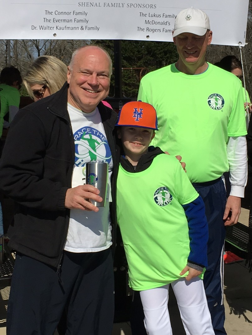 Dr. Skinner at Race the Helix